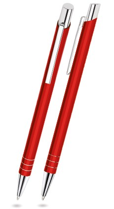 FIT-06 Kugelschreiber Touch Pen FIT. Rot (matt).