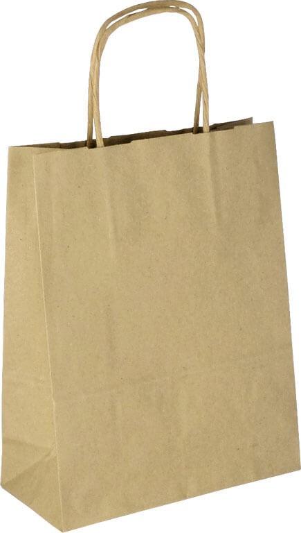 PS1010 Papiertasche mit Papierkordel EKO PLUS braun