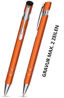 S-05 Kugelschreiber. Orange - matt.