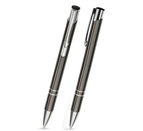 C-03 Kugelschreiber, graphit  - glänzend.