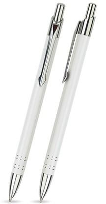 B-20 Kugelschreiber. Weiß - Lack.