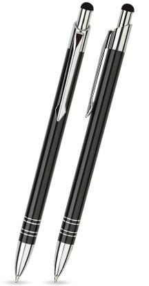 BT-01 Kugelschreiber. Schwarz - glänzend.
