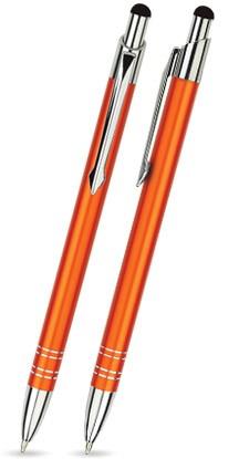 BT-05 Kugelschreiber Touch Pen. Orange - matt.