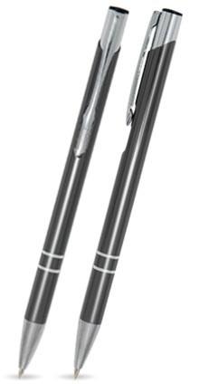 CS-03 Kugelschreiber. Graphit - glänzend.
