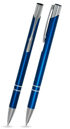 CS-10A Kugelschreiber. Blau - matt.