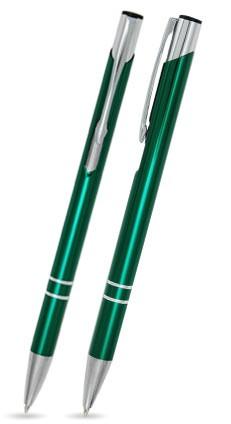 CS-13 Kugelschreiber. Dunkelgrün - glänzend.
