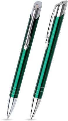 M-13 Kugelschreiber. Dunkelgrün - glänzend.