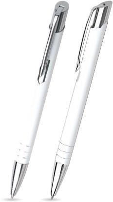 M-20 Kugelschreiber. Weiß - Lack.