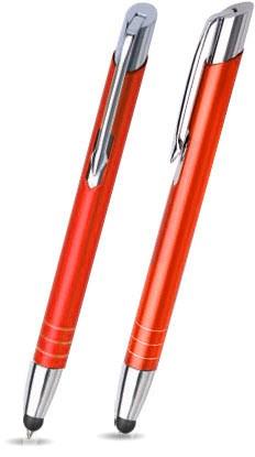 MT-05 Kugelschreiber Touch Pen. Orange - matt.