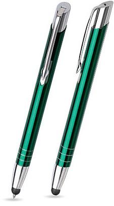 MT-13 Kugelschreiber Touch Pen. Grün - glänzend.