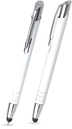 MT-20 Kugelschreiber Touch Pen. Weiß - Lack.