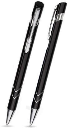 S-01 Kugelschreiber. Schwarz - Lack.
