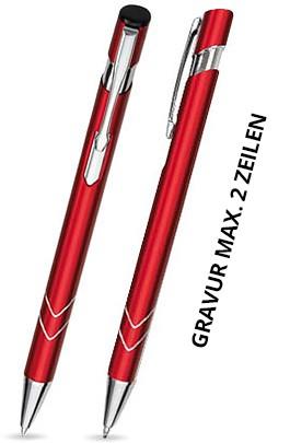 S-06 Kugelschreiber. Rot - matt.