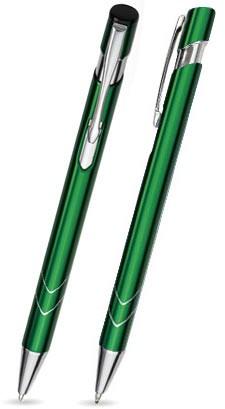 S-13 Kugelschreiber. Dunkelgrün - glänzend.