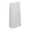 Papiertasche Bodenbeutel Weiss