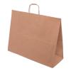 Papiertasche mit Papierkordel EKO PLUS braun