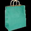 Papiertasche mit Papierkordel EKO PLUS grün