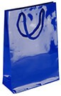 L1025 Laminated Paper Bag - DARK BLUE
