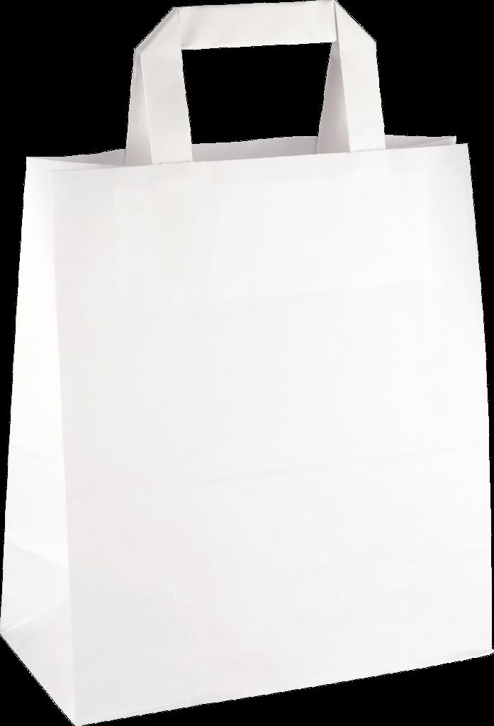PP207G002 med flad papirholder hvid 260x175x245 mm
