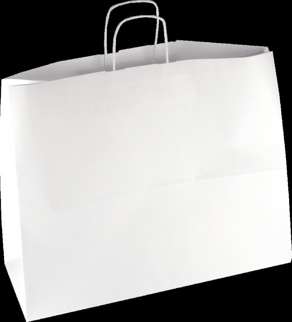 PS218G002 med snoet papirhåndtag hvid 540x140x440 mm